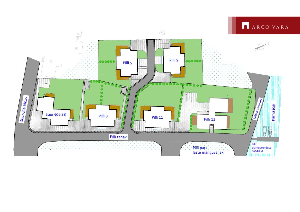 Müüa korter Pilli  13-1, Pärnu linn, Pärnu maakond